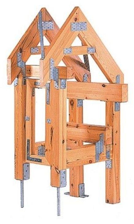 Tesařské kování pro dřevokonstrukce