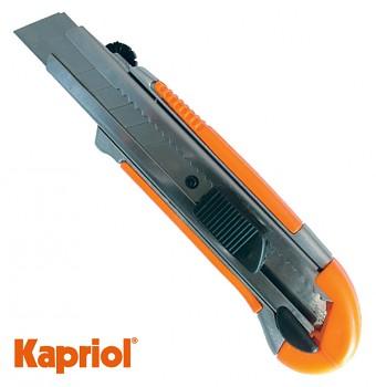 Ulamovací celokovový nůž 21,7 mm Kapriol s ocelovou výztuhou