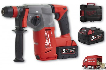 Aku SDS-PLUS vrtací kladivo Milwaukee M18 CHX-502 C FUEL