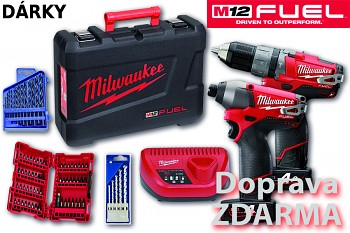 POWERPACK Milwaukee M12 PP2A-402C FUEL