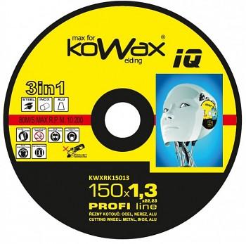 Řezný kotouč Kowax 3v1 150 x 1,3 x 22mm