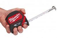 Profesionální svinovací 10m/27mm Milwaukee s magnetem