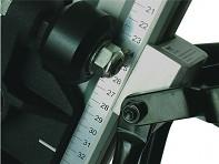 Stojan T250 - detail stupnice