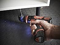 Aku vrtačka / šroubovák s rychlovýměnným sklíčidlem Milwaukee M12 BDDXKIT-202C