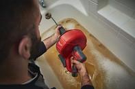 Aku čistič potrubí Milwaukee M12 BDC6-202C