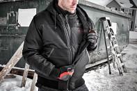 Aku vyhřívaná prošívaná vesta Milwaukee M12 HBW-0 (L) černá