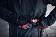 Aku vyhřívaná prošívaná bunda Milwaukee M12 HJP-0 (L) černá