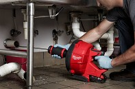Aku čistič potrubí Milwaukee M18 FDCPF10-201C