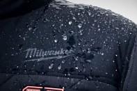 Aku vyhřívaná prošívaná bunda Milwaukee M12 HJP-0 (XL) černá