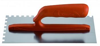 Hladítko ocelové zub rukojeť nylon 280 x 120 / U 10 mm KAPRIOL