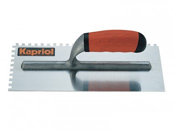 Hladítko ocelové zub rukojeť dvoukompozitní PROGRIP 280 x 120 / E 8 mm KAPRIOL
