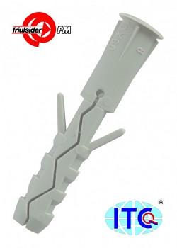 Hmoždinka rozevírací TU 600 5 x 25 nylon Friulsider