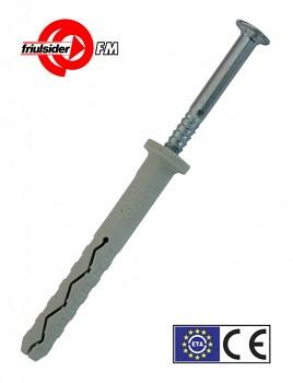 Hmoždinka natloukací TPP 627 8 x 60 nylon Friulsider