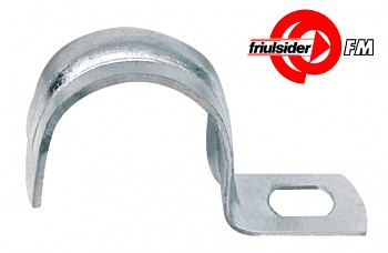 Plechová objímka jednostranná GMP  19 mm Friulsider