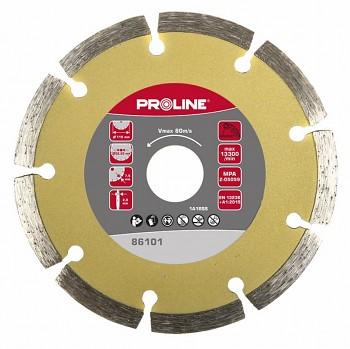 Kotouč diamantový segmentový standart 125 / 22 mm PROLINE