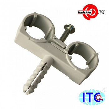 Objímka dvojitá CTND  10 mm Friulsider