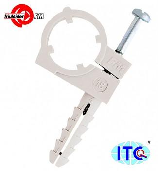 Objímka jednoduchá CTN  12 mm Friulsider