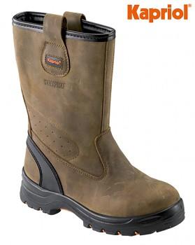 Pracovní bezpečnostní obuv celokožená ALASKA S3 42 Kapriol