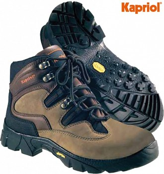 Pracovní obuv kožená HOUSTON NO-SAFETY 40 Kapriol