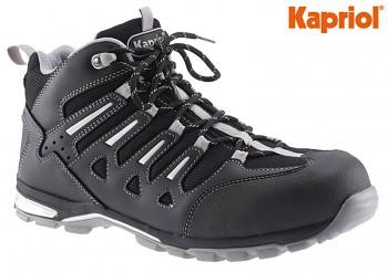 Pracovní bezpečnostní obuv kožená SNAP S1-P vysoká 40 Kapriol