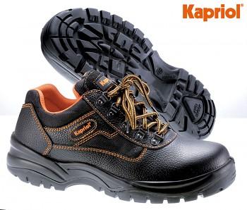 Pracovní bezpečnostní kožená obuv ATLANTA S3 nízká 38 Kapriol