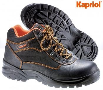 Pracovní bezpečnostní kožená obuv ATLANTA S3 vysoká 40 Kapriol