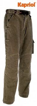 Pracovní kalhoty ATACAMA khaki S Kapriol