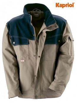 Pracovní bunda SAVANA béžovo-modrá L Kapriol