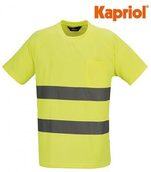 Tričko reflexní zelené XXXL Kapriol