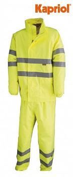 Reflexní nepromoková bunda a kalhoty XL Kapriol