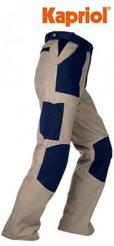 Pracovní kalhoty TENERE béžovo-modré XXXL (OLD TYPE)