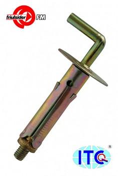 Hmoždinka plechová TAM 8 x 40 střední skoba M 4 Friulsider