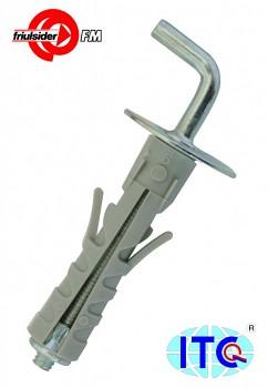 Hmoždinka plastová TA 12 x 46 střední skoba M 5 Friulsider