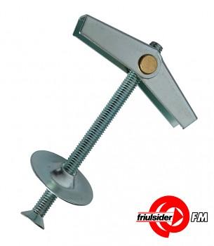 Hmoždinka pružinová AM lustrhák M 4 x 75 šroub Friulsider