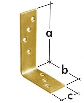 Úhelník trámový KB 1 100 x 75 x 30