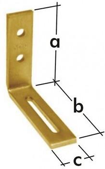Úhelník stavitelný KR 1  80 x 65 x 20