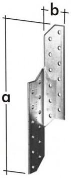 Spojka krovová levá LK 5 32 x 250