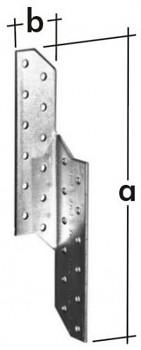Spojka krovová pravá LK 4 32 x 210