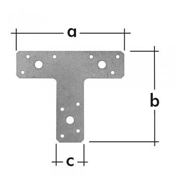 Spojka typu T  KT 2 150 x 125 x 35