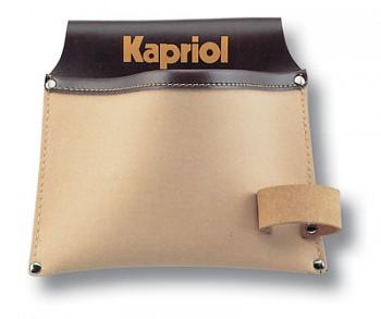 Kapsa na opasek koženka + kůže - 1 kapsa Kapriol