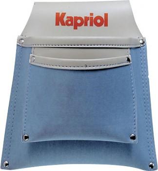Kapsa na opasek koženka - 2 kapsy Kapriol