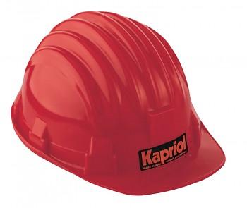 Ochranná přilba červená Kapriol