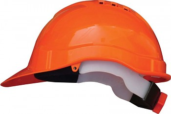 Ochranná přilba profesional oranžová Kapriol