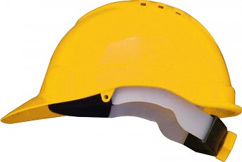 Ochranná přilba profesional žlutá Kapriol