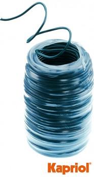 Vázací drát s plastem 1,7 mm x 25 m Kapriol