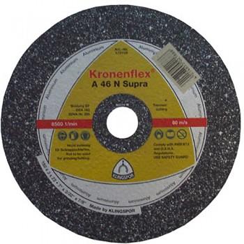 Řezný kotouč na hliník A 46 N Supra 230 x 3,0 x 22 Klingspor