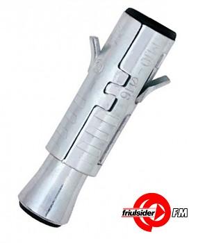 Ocelová kotva TDS INOX sólo M 12 x 80 pro střední zatížení Friulsider