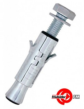 Ocelová kotva TDS INOX šroub M 6 x 50 pro střední zatížení Friulsider
