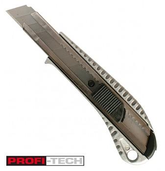 Ulamovací celokovový nůž 18 mm PROFI-TECH