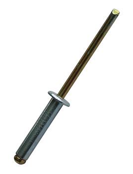 Trhací ocelový nýt FM-Rivex St/St 4 x 12 Friulsider